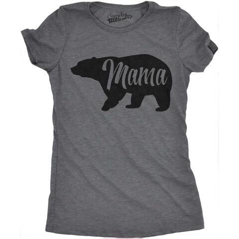 Womens Mama Bear T Shirt