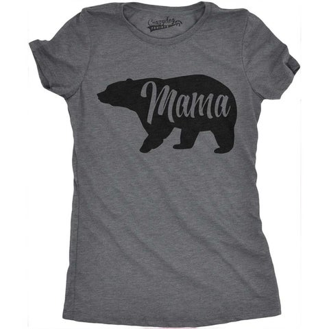 Womens Mama Bear T Shirt