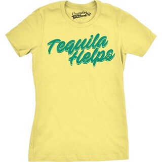 Womens Tequila Helps T shirt (5 options available)