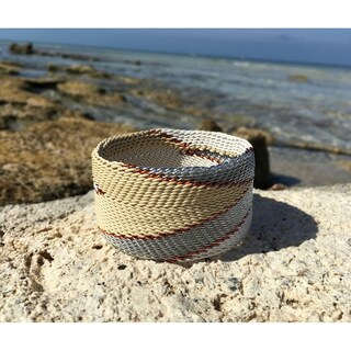 Handmade Chevron Wire Bangle (South Africa) (2 options available)