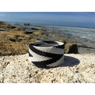 Handmade Chevron Wire Bangle (South Africa)