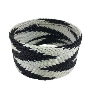 Handmade Chevron Wire Bangle (South Africa)