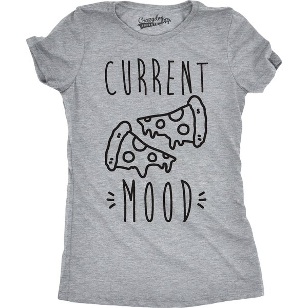 15843ff3520c3 Shop Womens Current Mood Pizza T shirt - On Sale - Free Shipping On Orders  Over  45 - Overstock.com - 18655709