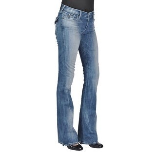 True Religion Becca Flared Flap Back Pocket