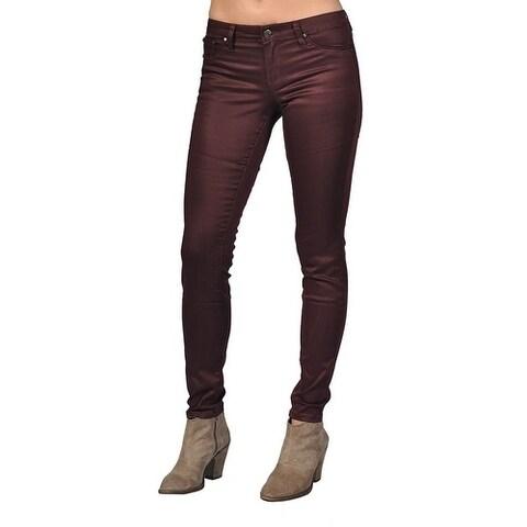 Tractr Fashion Pattern Design Crimson Jeans