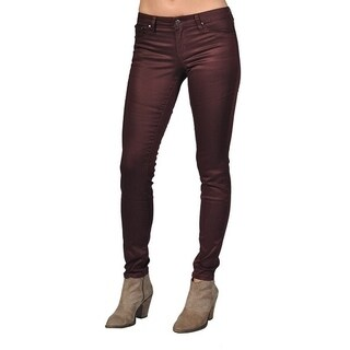 Tractr Fashion Pattern Design Crimson Jeans