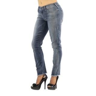 True Religion Cora Straight Blue Denim Jeans (More options available)