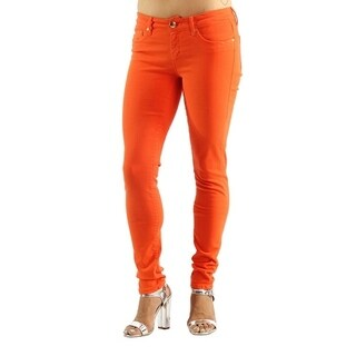 Women's ColoORG Stretch Orange Jeans