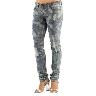 Women's Colored Stretch Spun Denim Jeans