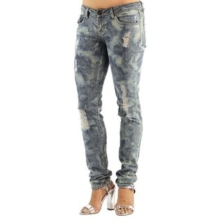 Women's Colored Stretch Spun Denim Jeans (2 options available)