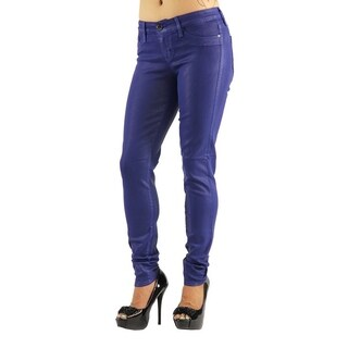 Women's Colored Stretch Blue Jeans