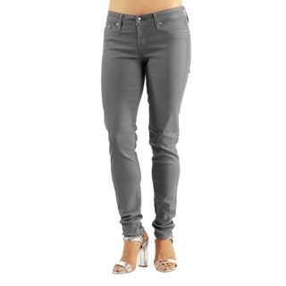 Women's Colored Stretch Gray Jeans