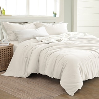 tan duvet cover. Amrapur Overseas Linen-Cotton Blend 3-Piece Duvet Set Tan Cover F