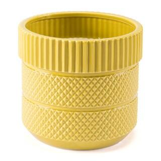 Inca Planter Yellow
