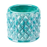 Tufted Planter Teal