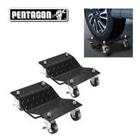 Car Dolly with Heavy Duty Roller Wheel Casters by Pentagon (Set of 2)