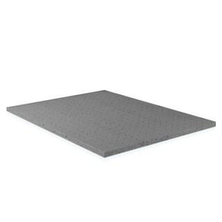 Furinno Angeland 2-Inch Bamboo Charcoal Memory Foam Mattress Topper, Queen BC226782Q