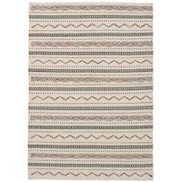 eCarpetGallery Flatweave Sedona Ivory  Wool Kilim (5'3 x 7'7)
