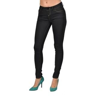 One Tough Brand Women's Fashion Skinny Jeans 1 Black