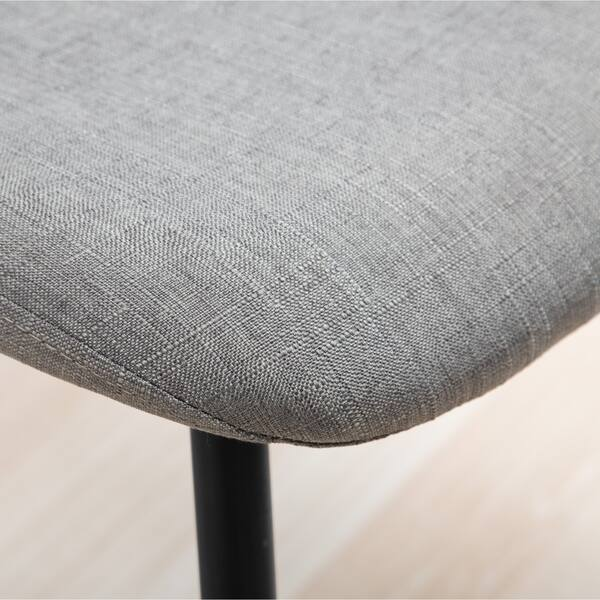 Strange Lassan Modern Contemporary Fabric Dining Chairs In Charcoal Set Of 4 As Is Item Overstock Com Shopping The Best Deals On As Is Pdpeps Interior Chair Design Pdpepsorg