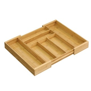 Furinno DaPur Bamboo Expandable Drawer Organizer FK8718