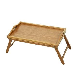 Furinno DaPur Bamboo Serving Tray with Legs FK8885