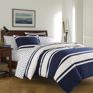 Poppy & Fritz Rylan Rugby Full/ Queen Size Comforter Set (As Is Item)