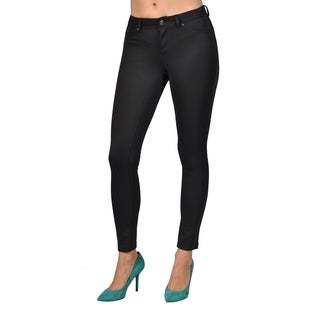 Womens Colored Stretch Leggings Pants Black