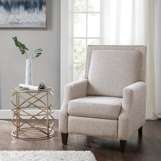 Madison Park Woodham Grey Fabric Recliner