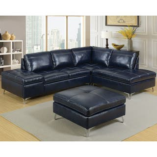 Blue Sectional Sofas For Less Overstock Com