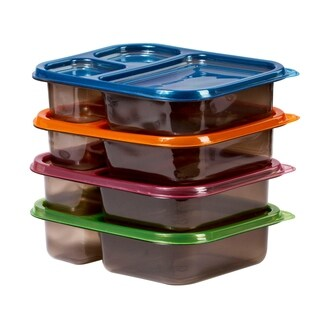 8 Pc Meal Containers Adult Lunch Boxes - Food Microwavable Containers