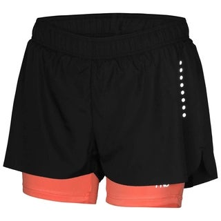 Crivit Pro TopCool Women's Activewear Shorts Black Coral