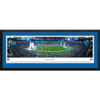 Detroit Lions at Ford Field - Blakeway Panoramas NFL Prints