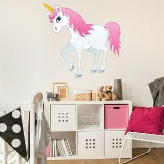 Pretty Unicorn II Wall Decal
