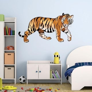 Colorful Tiger Wall Decal