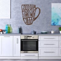 Good Days Coffee Wall Decal