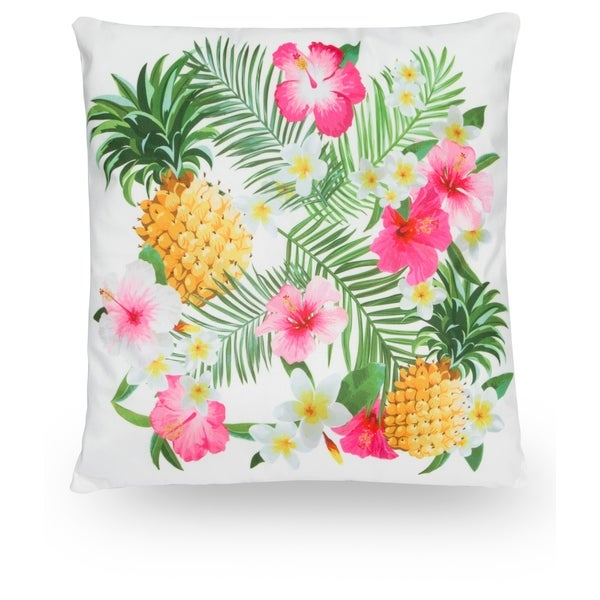Pinele Hibiscus 18 Microfiber Throw Pillow Cover Free Shipping On Orders Over 45 18658725