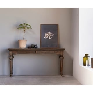 Console Table Teak Wood