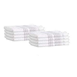 Ellen Turkish Cotton Washcloths (Set of 8)