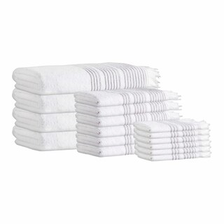 Ellen Turkish Cotton 16-Piece Towel Set