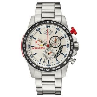 GV2 Swiss Quartz Chronograph Stainless steel Bracelet Watch