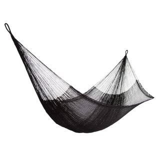 Hammock, 'Black Relaxation' - Double (Mexico)|https://ak1.ostkcdn.com/images/products/18679347/P24772028.jpg?impolicy=medium