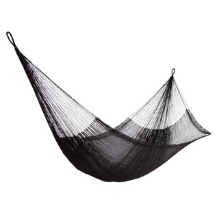Hammock, 'Black Relaxation' - Double (Mexico)