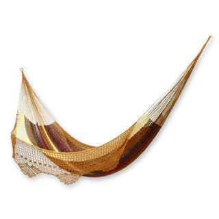 Hammock, 'Maya Sanctuary' - Double (Mexico)|https://ak1.ostkcdn.com/images/products/18679395/P24772051.jpg?impolicy=medium