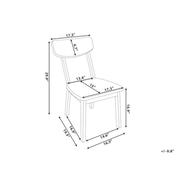 Marvelous Shop Beliani Santos White Modern Dining Chair Free Cjindustries Chair Design For Home Cjindustriesco