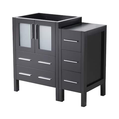 "Fresca Torino 36"" Espresso Modern Bathroom Cabinets"