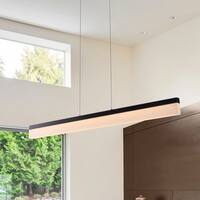 VONN Lighting VMC37400BL Procyon 36-inch Integrated LED Linear Chandelier in Black