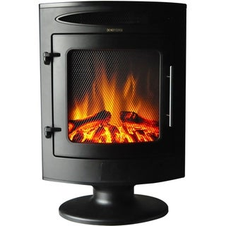 Link to Cambridge 1500W Freestanding Electric Fireplace Heater with Log Display Similar Items in Fireplaces