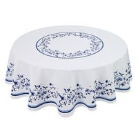 Blue Portofino 70Rnd Table Cloth