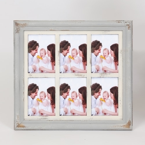 "Vintage Six  5"" x 7"" Collage Picture Frame"
